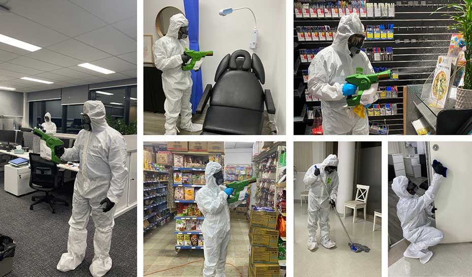 Warehouse Covid Cleaning